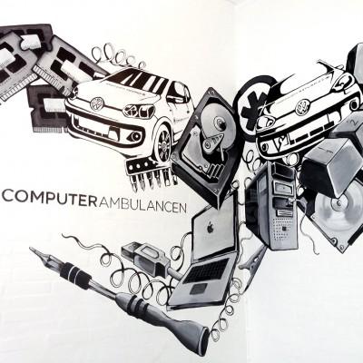 computer ambulancen