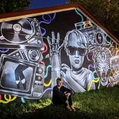 """Stine Hvid Roskilde Festival 2015 night shot"""