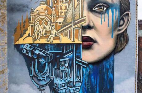 stine-hvid-Netflix-theRain-streetart-mural
