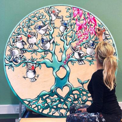 stine-hvid-kræftværket-mural-vægmaleri