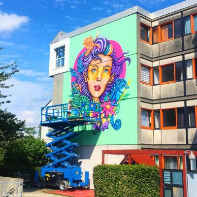 stine-hvid-Brøndby-mural-wall-streetart-graffiti